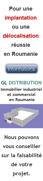 GL DISTRIBUTION - Immobilier industriel et commercial en Roumanie